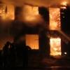 Полиция выдвинула предварительную версию пожара в Омской области