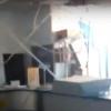 «Типичный Омск»: на почте обвалился потолок, а света нет две недели