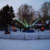 Жители Нефтяников могут опробовать новый зимний аттракцион