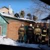 В Омске пожарные за час потушили частный дом