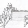 В омском парке установят скульптуру следователя – персонажа из «Преступления и наказания»