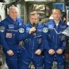 Россиян поздравили с Новым годом и Рождеством из космоса (видео)