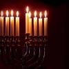 В Омске зажгли первую свечу в честь Хануки