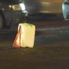 В Омской области на краю проезжей части сбили пешехода