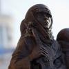 В Омске открыли памятник ленинградским блокадникам