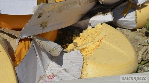 Во Владимире уничтожили более полтонны санкционных продуктов