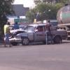 В Омске на Заводской тройное ДТП