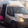 В центре Омска столкнулись два пассажирских микроавтобуса