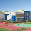 Фасад будущей омской школы в Амуре будет из керамогранита пяти цветов