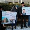 Обманутые омские дольщики вышли на четырехдневный пикет