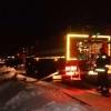 Омские пожарные боролись с огнем на площади 200 квадратных метров