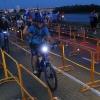 Участниками «Ночного велопробега» в Омске стали 500 человек