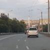 На дорогах Омска нарисовали кривую разметку