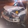 В Омске автоледи устроила аварию
