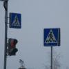 На перекрестке в центре Омска для пешеходов выделили отдельное время