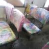 Обивку сидений в омском автобусе обновили в честь года свиньи