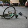 В Омске на улице Конева сбили трех несовершеннолетних велосипедистов