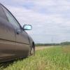 В Омской области горе-угонщик сломал «Форд Си-МАКС»  и бросил его на дороге