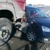 На Русско-Полянском столкнулись три легковушки и «КамАЗ»