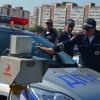 Омские сотрудники Госавтоинспекции варили кашу и летали на вертолёте