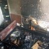 В частном доме Омска сгорели 40-летние мужчина и женщина