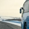 На трассе в Омской области у пассажирского автобуса кончилось топливо