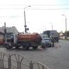 Ассенизаторская машина попала в ДТП в День омича