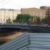 Демонтаж центральной части Юбилейного моста через Омь также сдвинулся из-за погоды