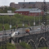 На «Горбатом» мосту в Омске залатали трещины