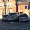 При столкновении трех автомобилей в Омске пострадали три человека (фото и видео)