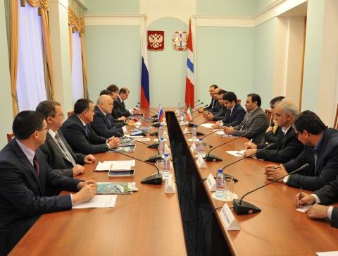 Встреча с иранской делегацией