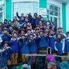 140 студентов отправились помогать пенсионерам Омской области