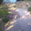 В омском дворе после ликвидации прорыва трубы осталась грязь