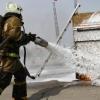 «Огненный праздник» подарили омичам пожарные