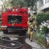 В Омске потушили пожар в одной из пятиэтажек Центрального округа