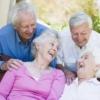 В Омске отмечают День пожилого человека