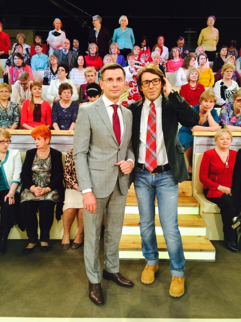 Игорь Антропенко и Андрей Малахов