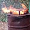 Сжигание мусора в печи приводит к онкозаболеваниям