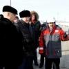 Толоконский и Назаров проинспектировали строительство гидроузла