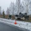 Под Омском водитель на иномарке перевернулся пять раз