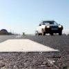В Омске начали наносить стойкую дорожную разметку
