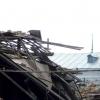 В Омской области в жилом доме из-за снега обвалилась кровля
