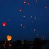 Небесные фонарики запрещается пускать в Омске