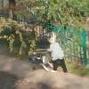 В Омске пенсионерка попыталась угнать продуктовую тележку из гипермаркета