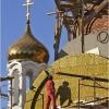 Возводят всем миром храм Архангела Михаила на Завертяева
