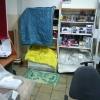 В Омске заливает отделение Почты России на Старой Московке