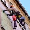 В Омске идет ремонт фасадов домов не из «гостевого маршрута»