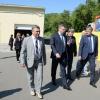 Бурков лично посмотрел фронт ремонтных работ в больнице в Амурском поселке