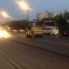 На проспекте Мира в Омске почти полностью уложили первый слой асфальта
