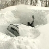 Из-за снегопада в Омске случилось 96 ДТП